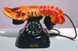 salvador dali lobster telephone