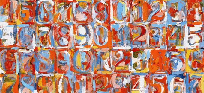 Jasper Johns Numbers | www.pixshark.com - Images Galleries ...